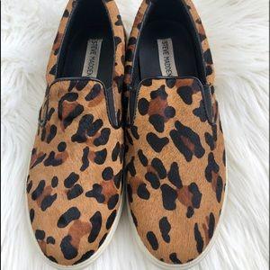 Women's Steve Madden leopard slip on shoes